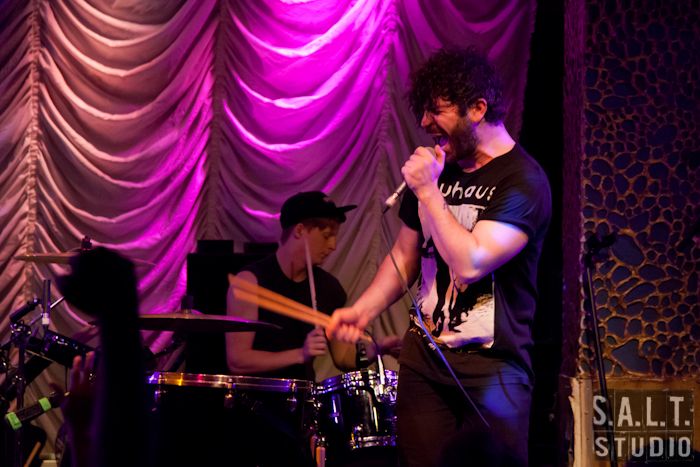 FOALS live music photography by Kelly Starbuck for SALT Studio Photography, Wilmington, NC.