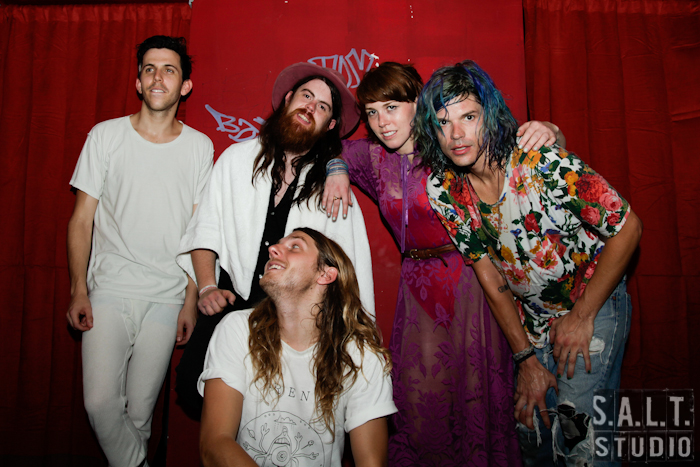 Grouplove at Cat's Cradle in Chapel Hill, NC. Musician portrait photograph copyright Kelly Starbuck for SALT Studio Photography, Wilmington, NC.