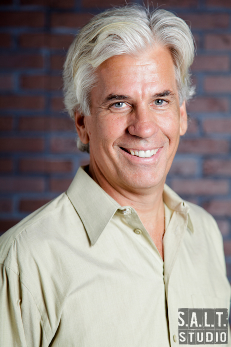 Steve Bakunas portrait photograph copyright Kelly Starbuck for SALT Studio Photography, Wilmington, NC.