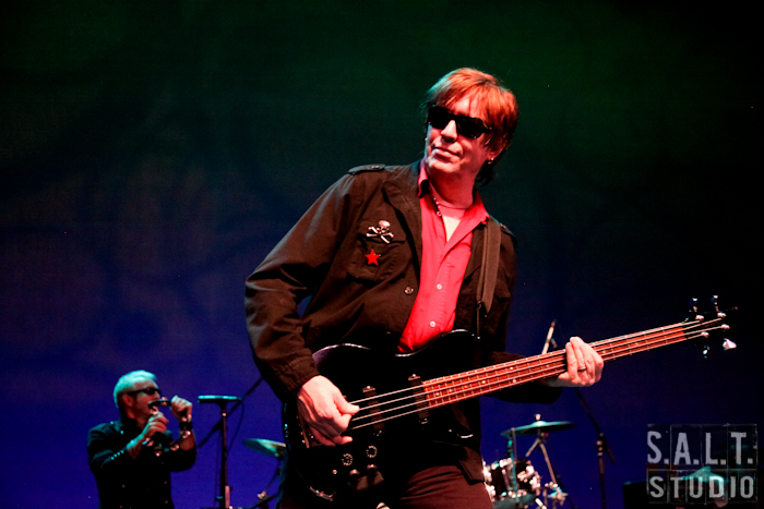 Psychedelic Furs live music photography copyright Kelly Starbuck for SALT Studio Photography, Wilmington, NC.