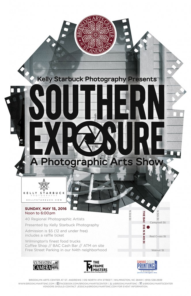 Kelly Starbuck Photography Presents Southern Exposure: A Photographic Arts Show at the Brooklyn Arts Center - May 15, 2016