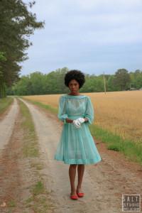 LEETA HARDING-bluedress