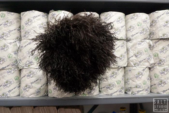 "Larry Gagosian""s toilet paper"