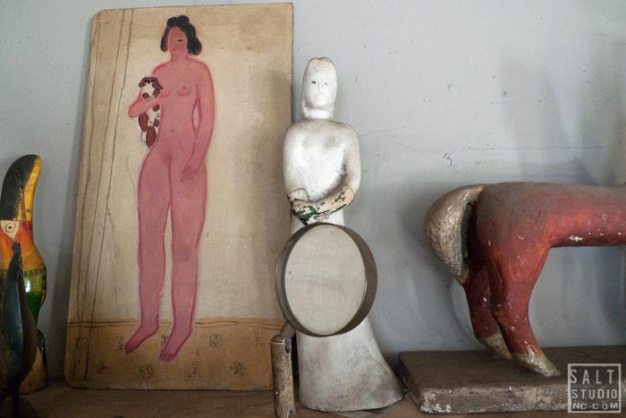 Robert Frank's studio